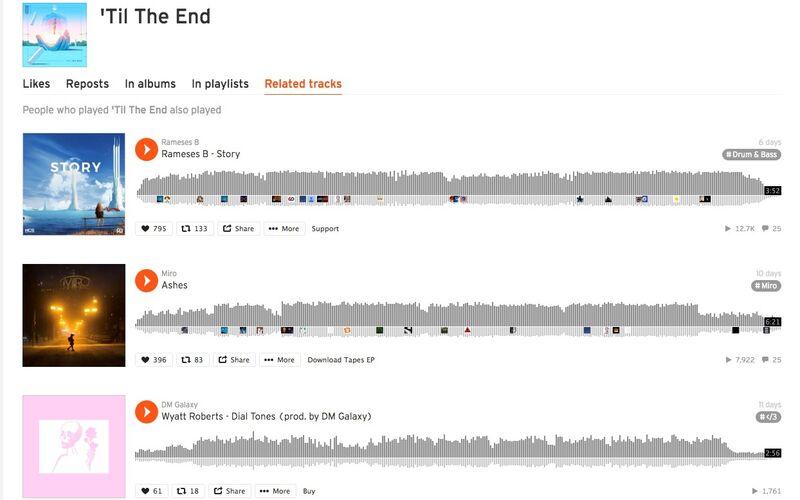 Скриншот 1 программы SoundCloud
