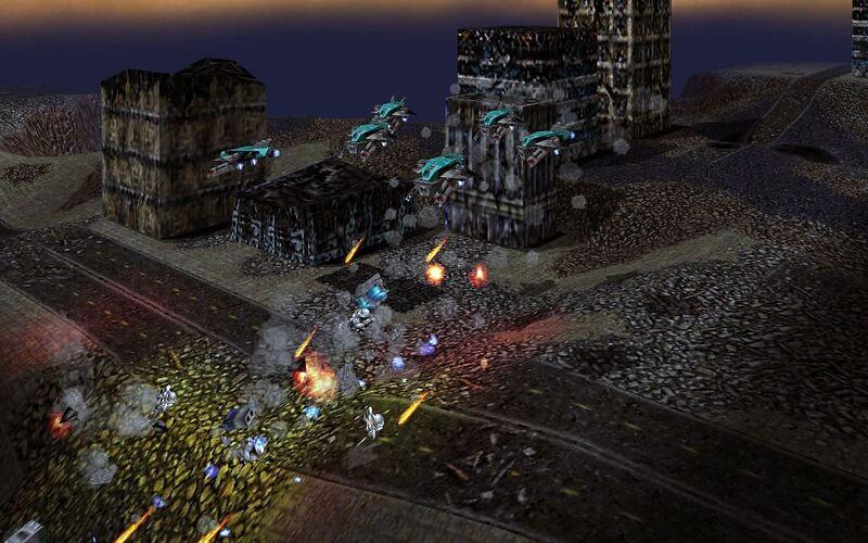 Скриншот 1 программы Warzone 2100