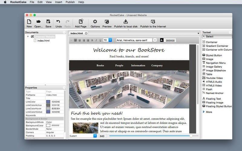 Скриншот 1 программы RocketCake
