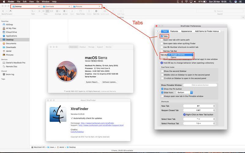 Скриншот 1 программы XtraFinder