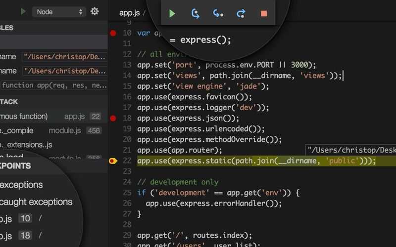Скриншот 1 программы Visual Studio Code