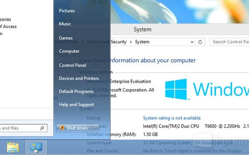 Скриншот 1 программы Ex7forW8