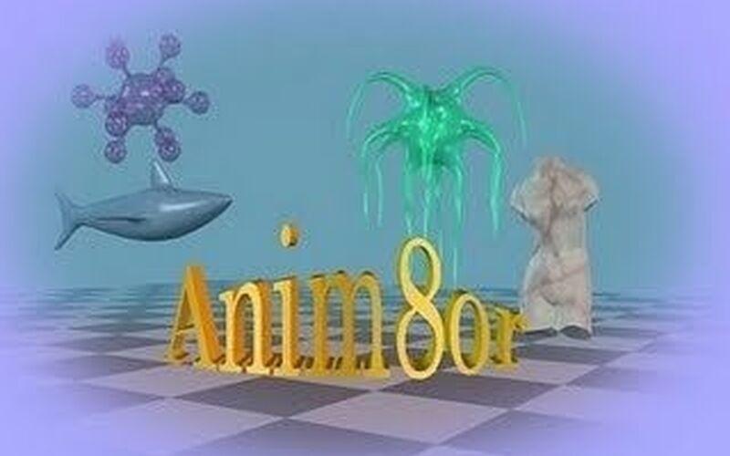 Скриншот 1 программы Anim8or