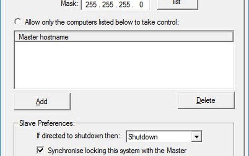 Скриншот 1 программы Input Director
