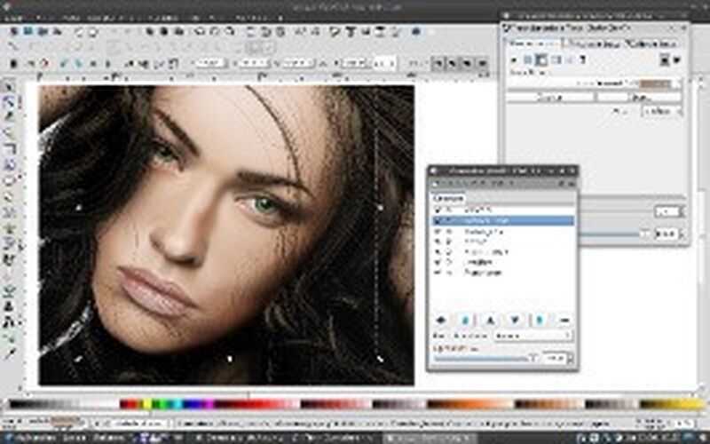 Скриншот 1 программы Inkscape
