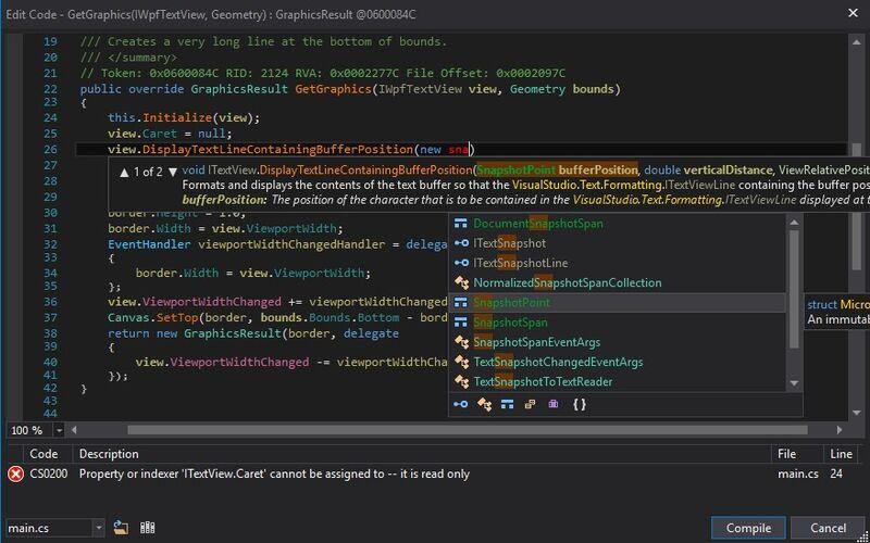 Скриншот 1 программы dnSpy