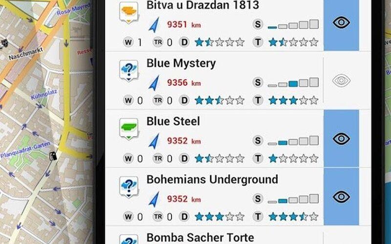 Скриншот 1 программы Locus Map