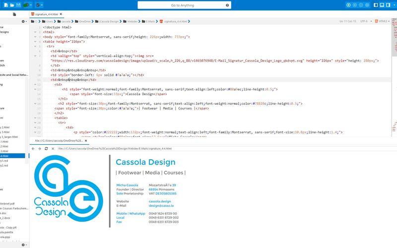 Скриншот 1 программы Komodo Edit