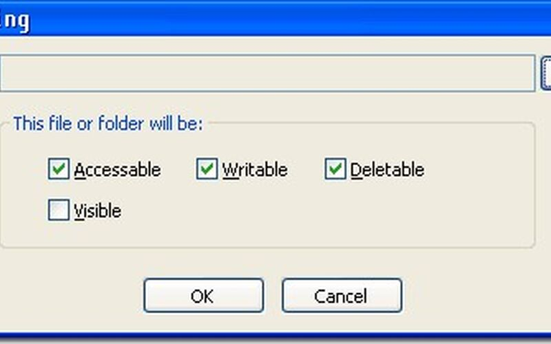 Скриншот 1 программы Easy File Locker