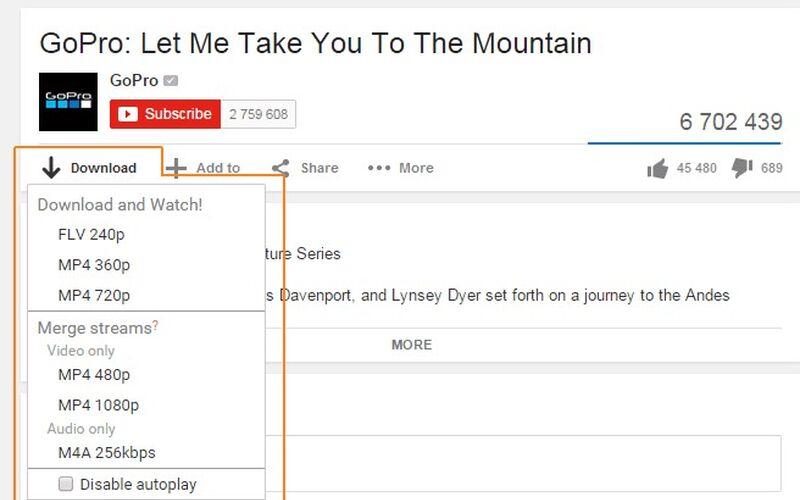 Скриншот 1 программы FastestTube