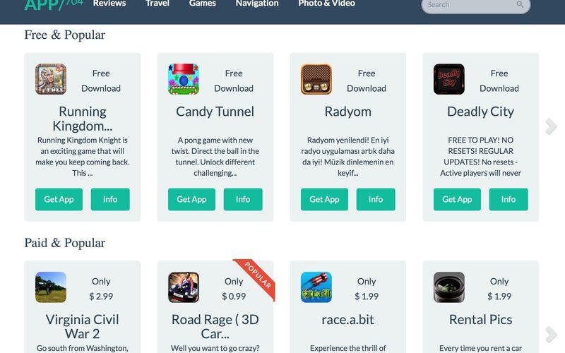 Скриншот 1 программы App 704