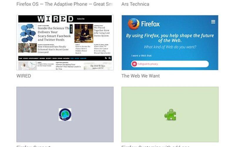 Скриншот 1 программы Mozilla Firefox