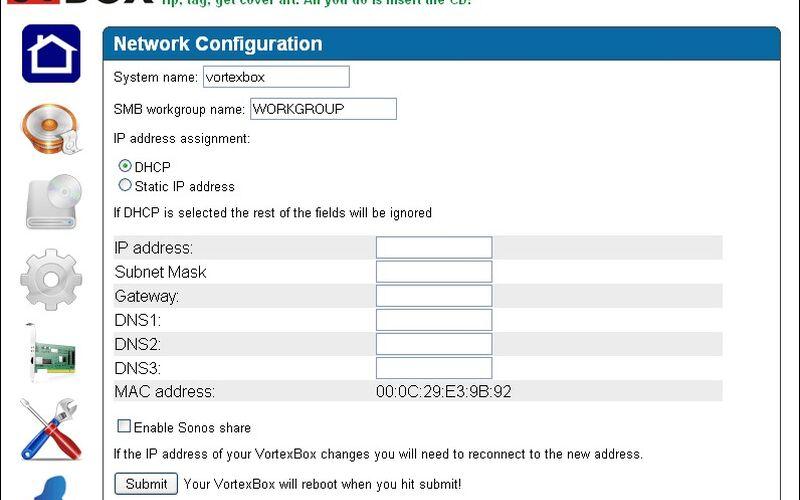 Скриншот 1 программы VortexBox