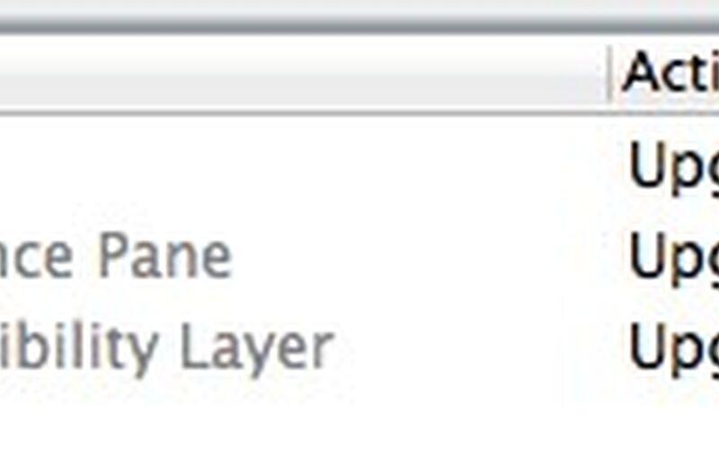 Скриншот 1 программы OSXFUSE