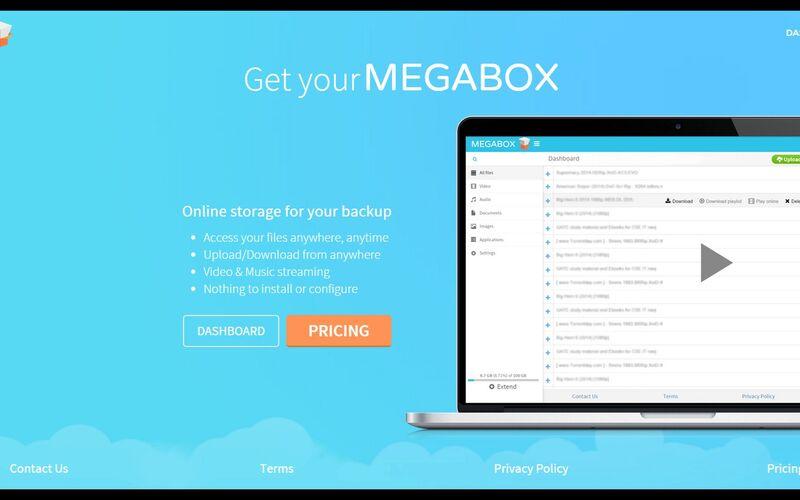 Скриншот 1 программы MEGABOX
