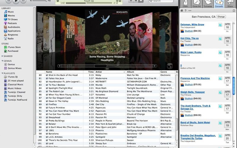 Скриншот 1 программы TuneUp