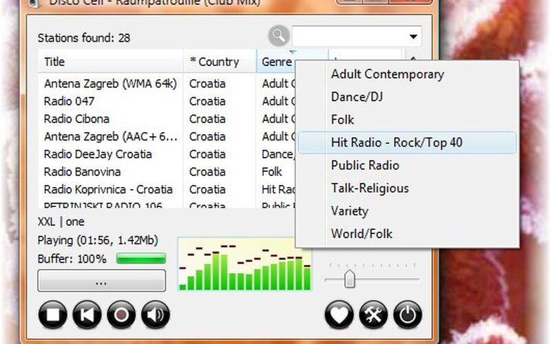 Скриншот 1 программы RadioSure