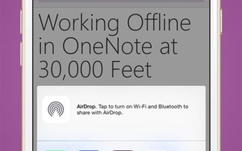 Скриншот 1 программы Microsoft OneNote