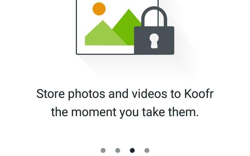 Скриншот 1 программы Koofr