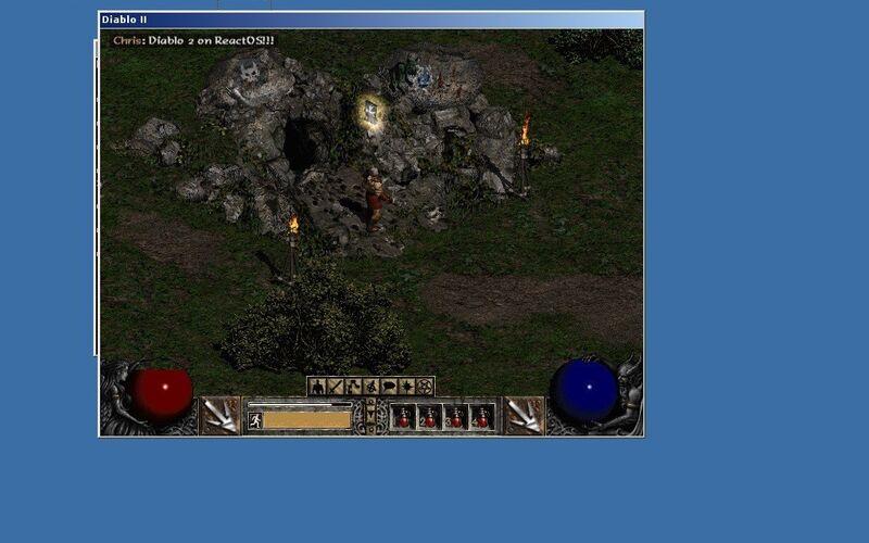 Скриншот 1 программы ReactOS