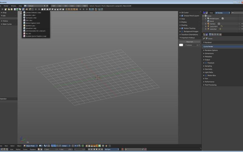 Скриншот 1 программы Bforartists