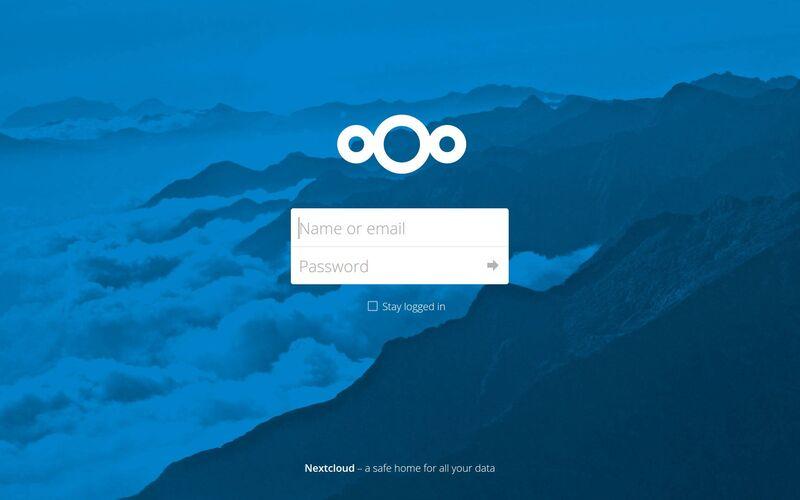Скриншот 1 программы Nextcloud