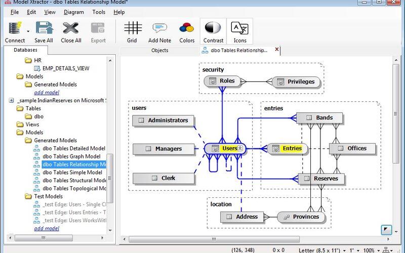 Скриншот 1 программы Model Xtractor