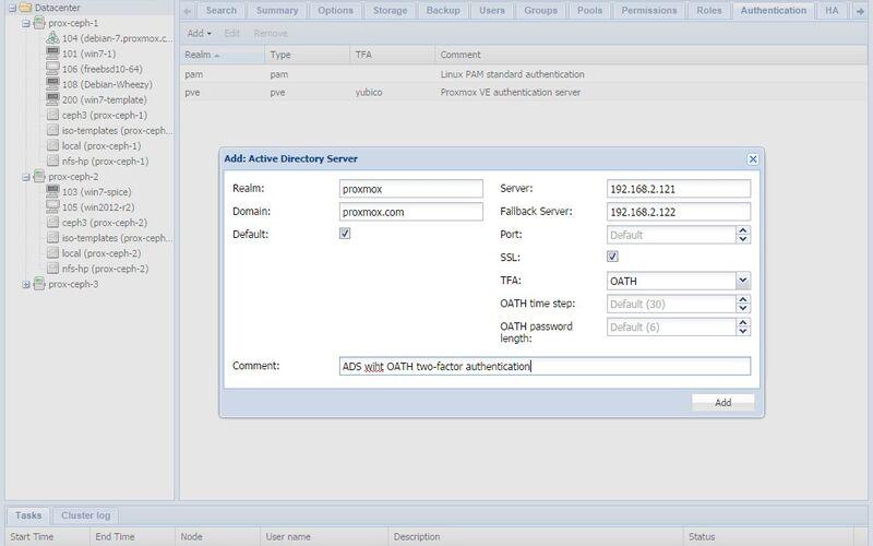 Скриншот 1 программы Proxmox Virtual Environment