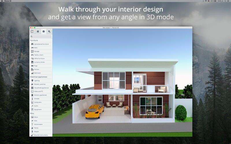 Скриншот 1 программы Planner 5D
