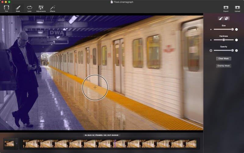 Скриншот 1 программы Cinemagraph Pro