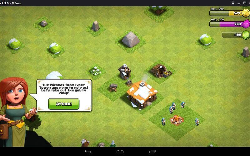 Скриншот 1 программы MEmu