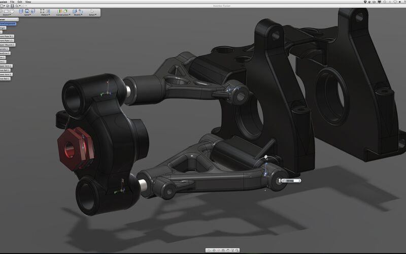 Скриншот 1 программы Autodesk Inventor