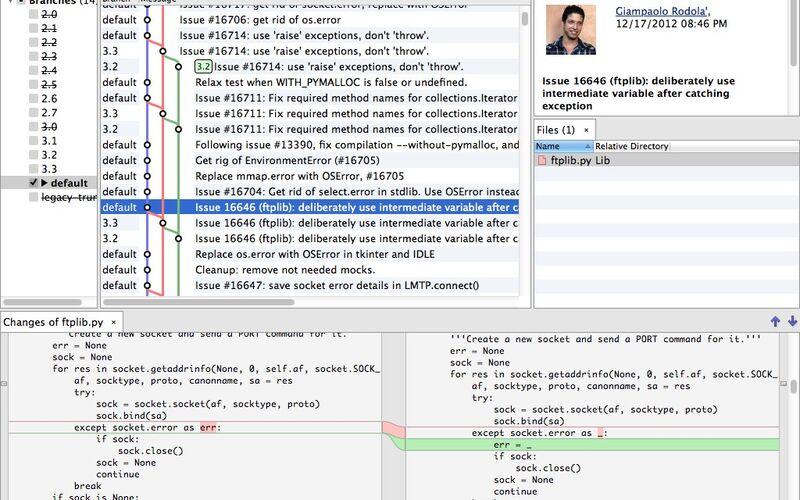 Скриншот 1 программы SmartGit