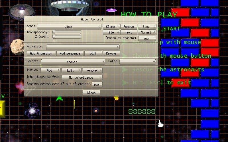 Скриншот 1 программы Game Editor