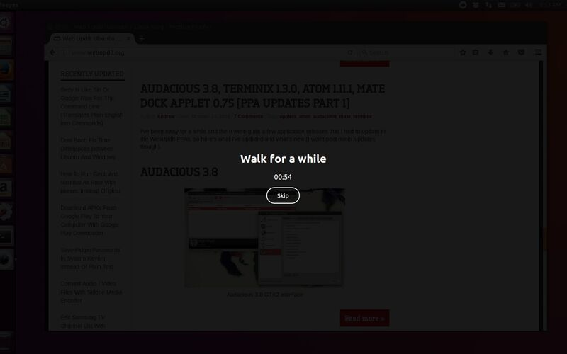 Скриншот 1 программы Safe Eyes Linux