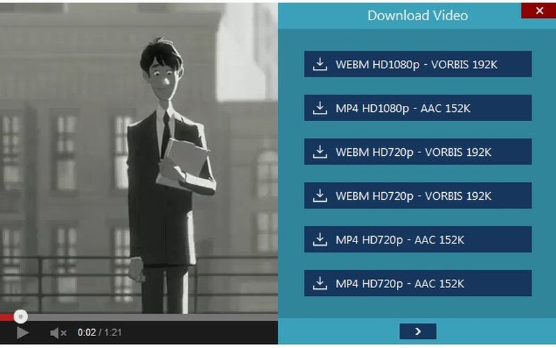 Скриншот 1 программы Youtube Video and Audio Downloader
