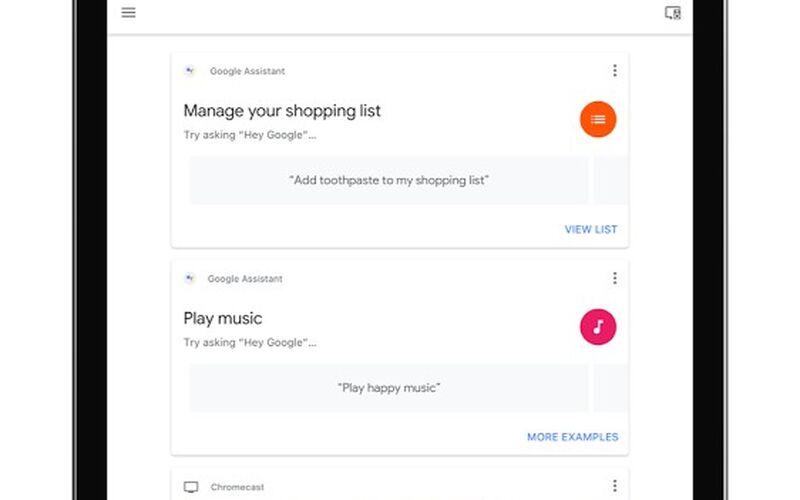 Скриншот 1 программы Google Home