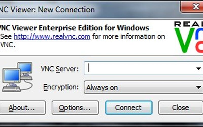 Скриншот 1 программы VNC Connect