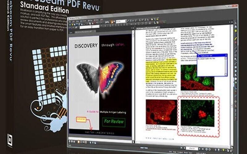 Скриншот 1 программы Bluebeam Revu