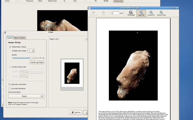 Скриншот 1 программы gThumb