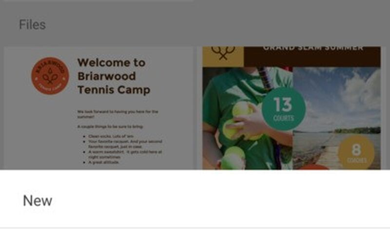 Скриншот 1 программы Google Drive