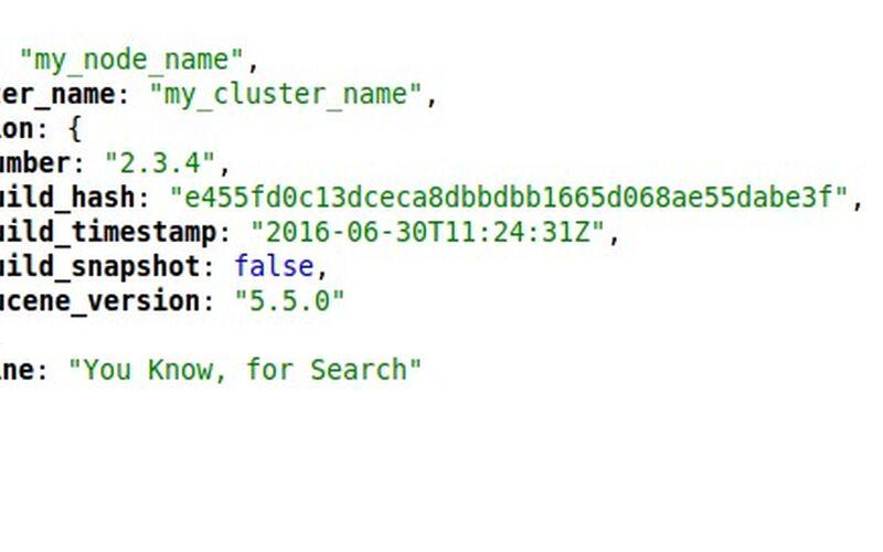 Скриншот 1 программы elasticsearch