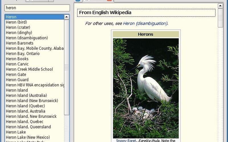 Скриншот 1 программы GoldenDict