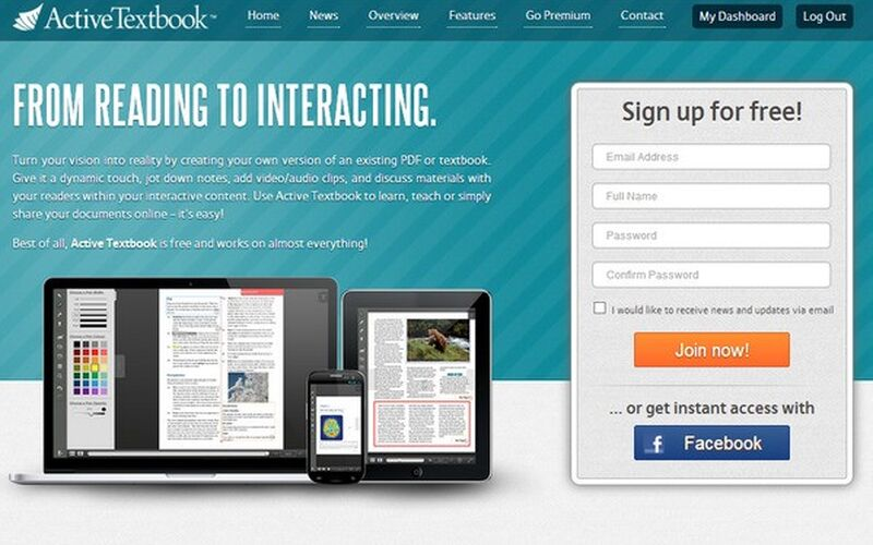 Скриншот 1 программы Active Textbook