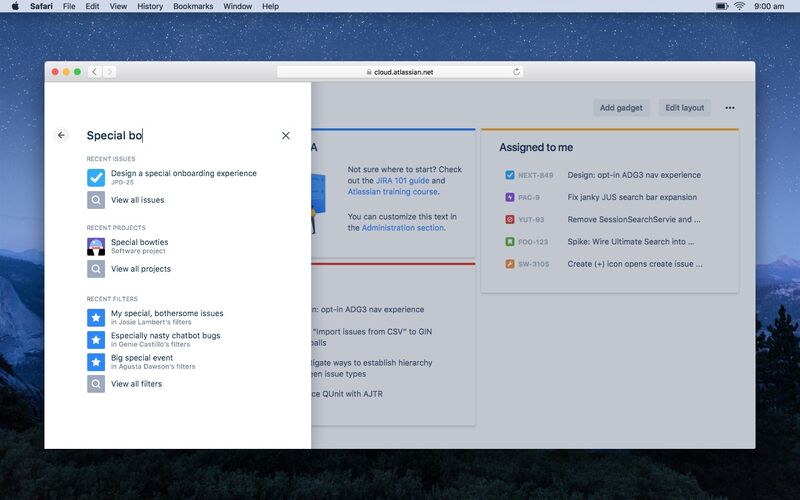 Скриншот 1 программы JIRA