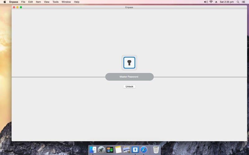 Скриншот 1 программы Enpass