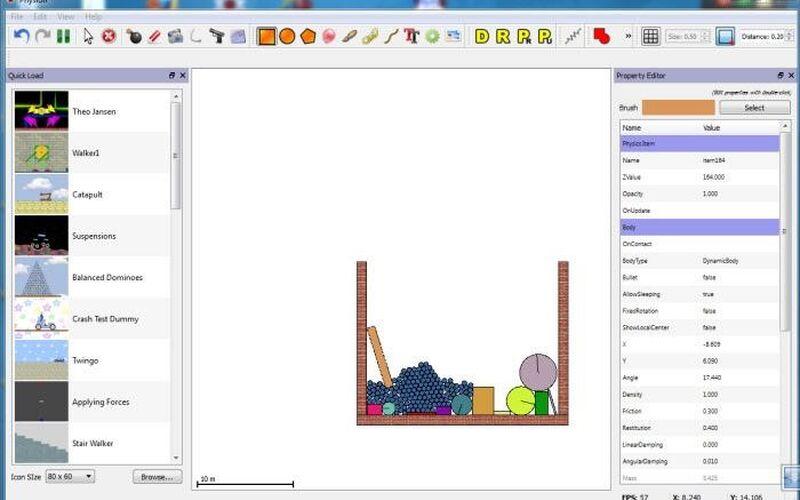 Скриншот 1 программы Physion