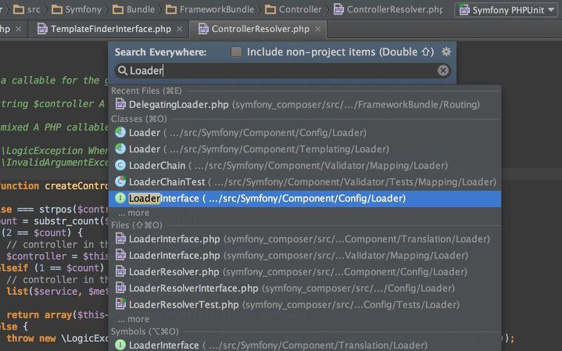 Скриншот 1 программы PhpStorm