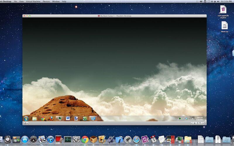 Скриншот 1 программы Parallels Desktop