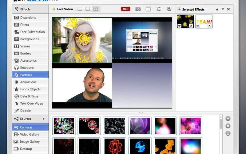 Скриншот 1 программы CamMask